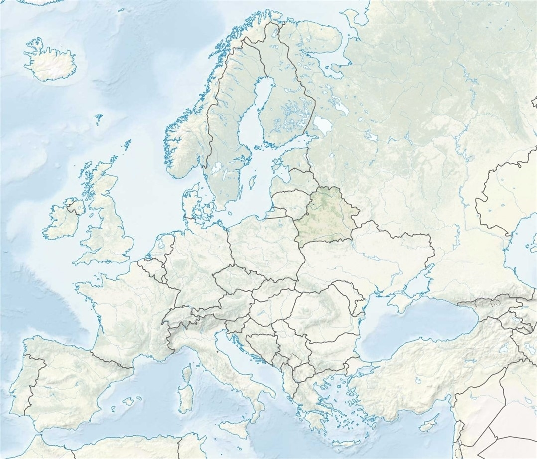 carte biélorussie europe